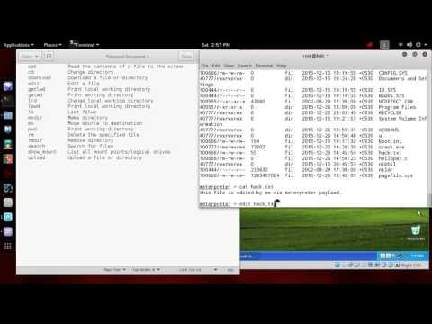 Meterpreter - FILE command help