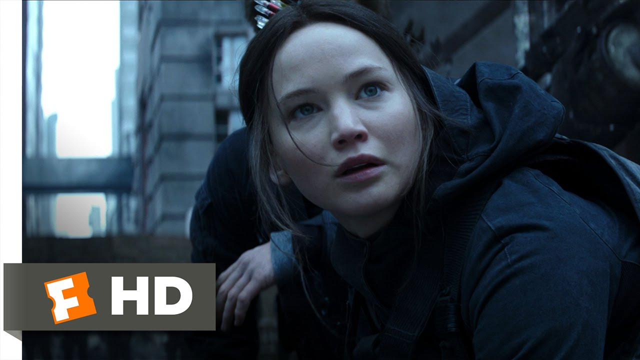The Hunger Games: Mockingjay – Part 2 (3/10) Movie CLIP – The Black Ooze (2015) HD