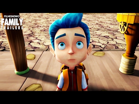 Monster Island   Official Trailer for the family animated movie [HD]
