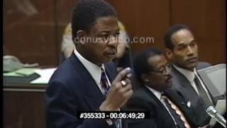 OJ Simpson Trial - February 1st, 1995 - Part 4 (last part)