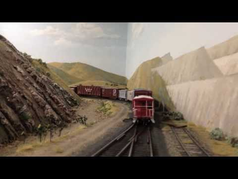 Jamestown Trains iCar Cab Ride - Rob Spangler's Western Pacific 8th Subdivision-Extended Video
