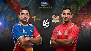 Pro Kabaddi 2019 Highlights   UP Yoddha vs Gujarat Fortunegiants   Hindi M10