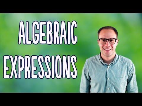 Algebraic Expressions (Basics)