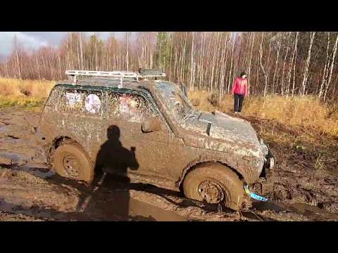 Off-Road выезд на УАЗах, Нивах и Джимнике Yamal Off-Road часть 1