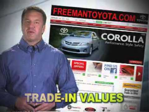 FREEMAN TOYOTA ANYTHING YOU CAN DO HERE
