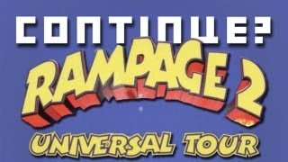 Rampage 2: Universal Tour (N64) - Continue?