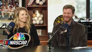 Dale Earnhardt Jr. and his wife Amy take Newlywed Quiz | NASCAR | NBC Sports