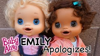 BABY ALIVE Emily Apologizes To Macy!