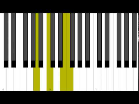 D Minor 9 Rootless Piano Chord Inversion Youtube