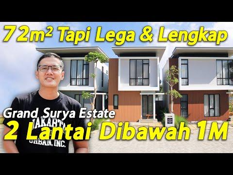 Rumah 72 M2 2 Lantai Lega Dan Murah, Grand Surya Estate Bekasi Timur