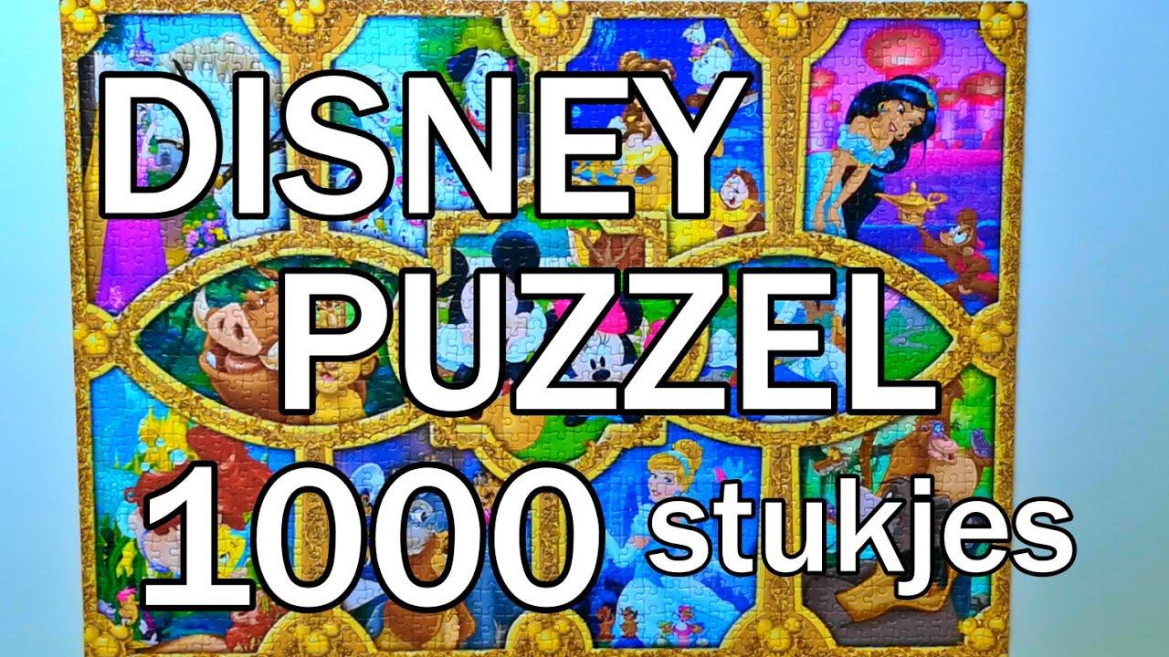 PUZZELEN    1000 stukjes     Disney Magical Moments