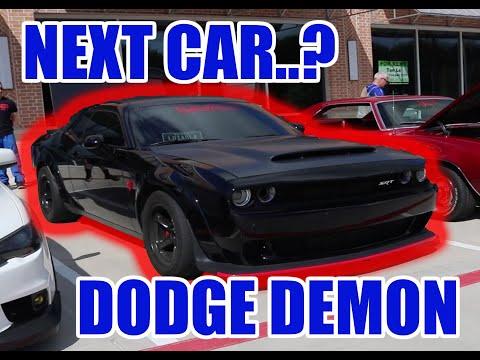 DODGE DEMON FOR MY NEXT CAR..?? (VLOG #1)
