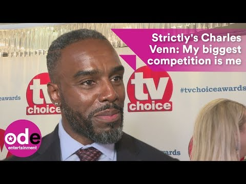 Strictly's Charles Venn: My biggest competition is me