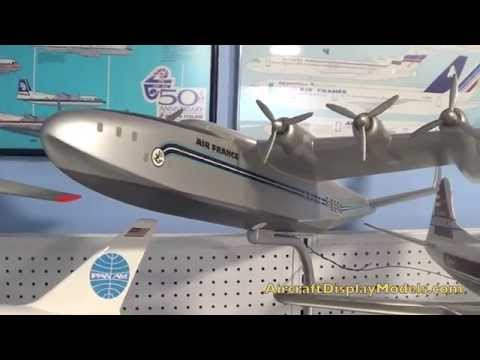 Video 6) Anthony Lawler airline display model collection Air France Latecoere