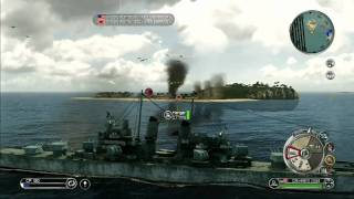 Battle Stations Pacific Gameplay (HD)