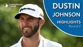 Dustin Johnson Highlights   Round 2   2019 Saudi International