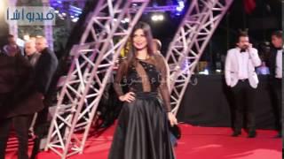 بالفيديو : رانيا منصور باطلالة جديدة بمهرجان السينما