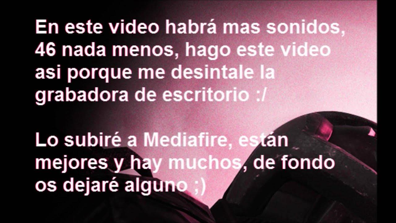 2º Pack de Sonido Para Tus Videos! / 46 Nuevos Sonidos! / TheVigomo