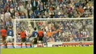 Marco Negri Scores Five Rangers 5 Dundee Utd 1 23/8/97