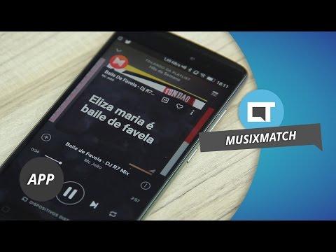Aprenda a letra das músicas com o Musixmatch Dica de App
