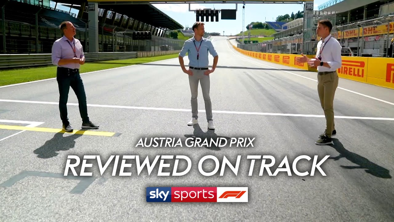 Button, Brundle and di Resta review the Austrian GP on track! 🏎️