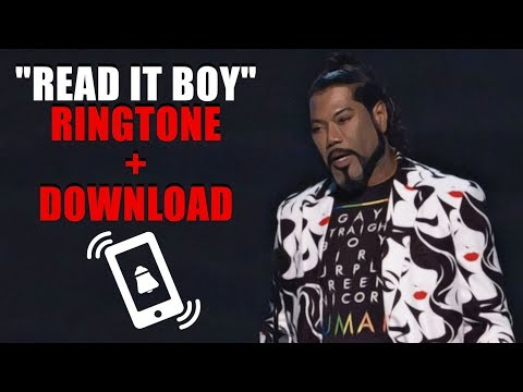 READ IT BOY | Ringtone + MP3 Download (Game Awards 2018)