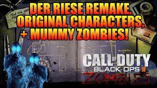 ★BLACK OPS 3 ZOMBIES★ DER RIESE REMAKE, MAP NAMES, MUMMY ZOMBIES, + MORE! (CoD BO3 Zombies Leak)