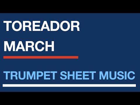 Free trumpet sheet music | Toreador's Song