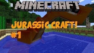 Minecraft: Jurassic Craft Let's Play! Ep. 1- 50 SUBSCRIBER SPECIAL