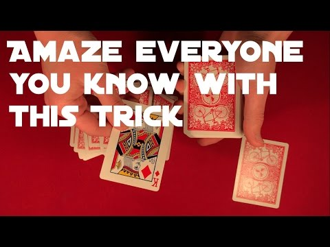 One Of The Best Card Tricks To Learn As Beginner