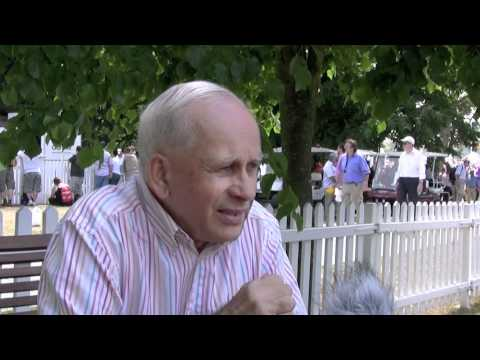 Anthony Carter @ Goodwood - motor racing nostalgia author interview