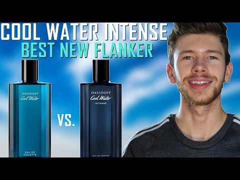 BEST COOL WATER FLANKER | NEW DAVIDOFF COOL WATER INTENSE FRAGRANCE REVIEW