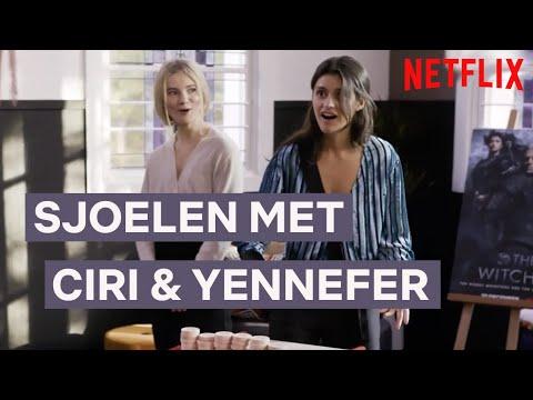 Sjoelen Met Ciri En Yennefer Van The Witcher   Netflix