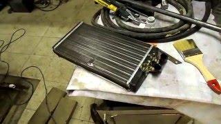 замена ремонт радиатора печки ауди 100, все машины
