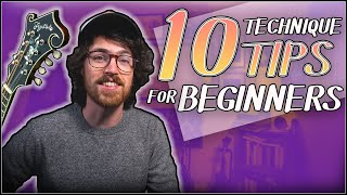 10 Technique Tips for Beginners /// Mandolin Lesson