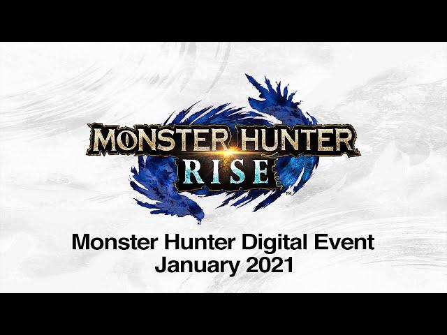 Monster Hunter Digital Event - Janvier 2021