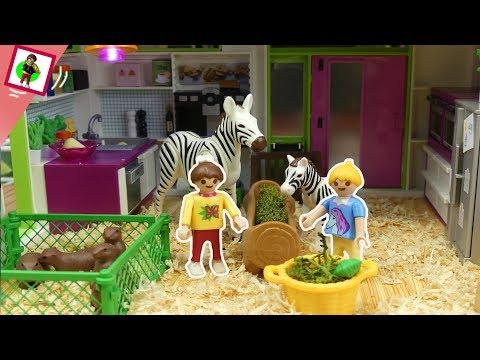 Playmobil Film 'Hilfe, wo kommen all die Tiere her?' Familie Jansen / Kinderfilm / Kinderserie