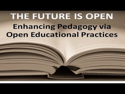 Enhancing pedagogy via open educational practices - public lecture by Rajiv Jhangiani