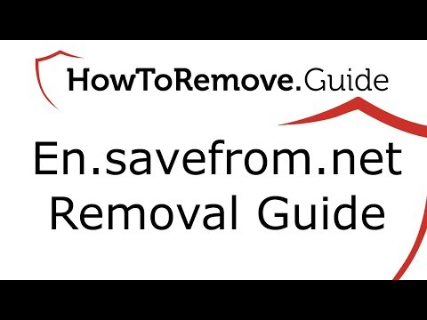 En.savefrom.net Removal Guide