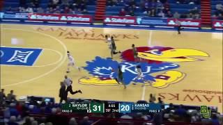 Baylor Basketball (W): Highlights vs. Kansas