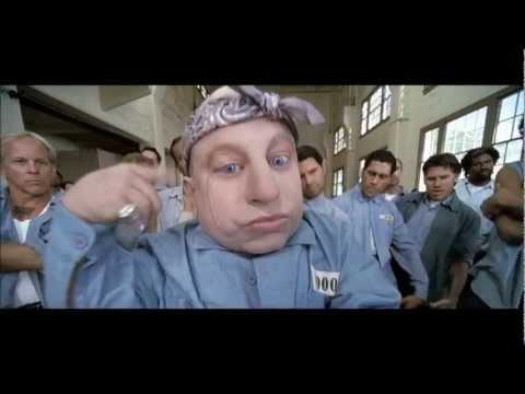Austin Powers in Goldmember- Dr Evil Jail Rap Hard Knock Life HD