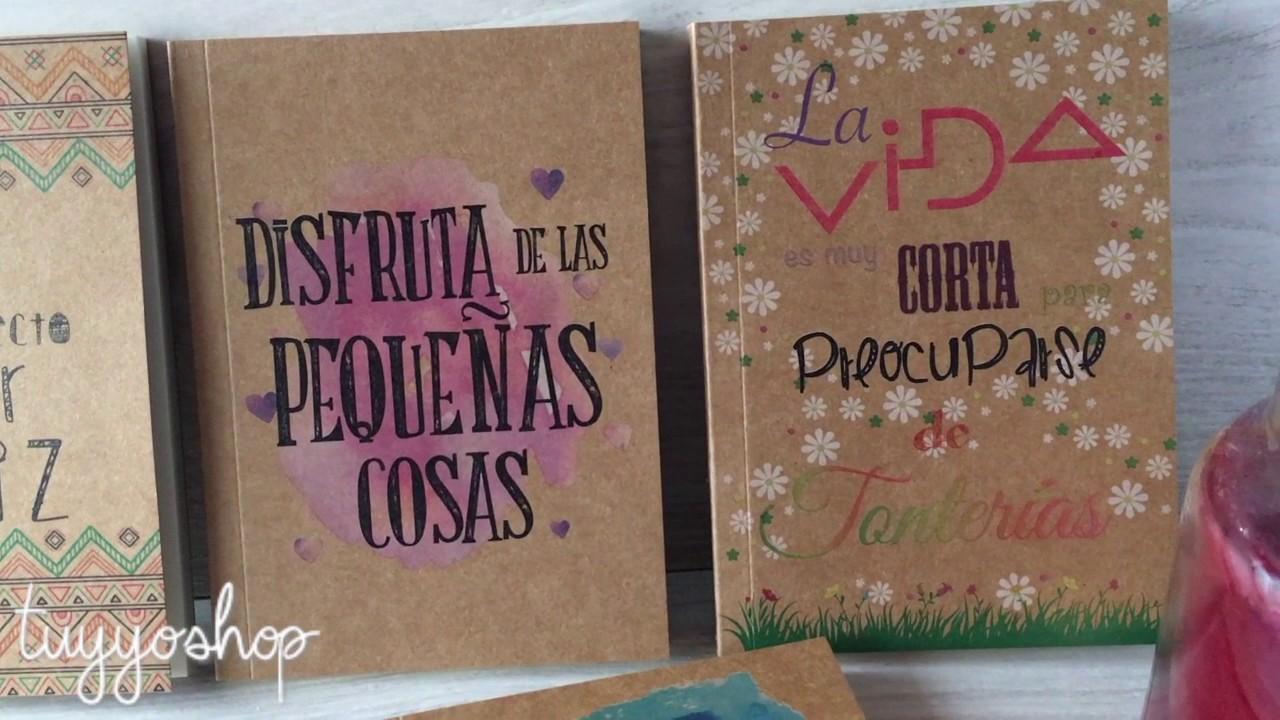 Nuevos Cuadernos Para Bodas Con Frases Increíbles
