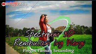 """Spectrum 3d """"rembulan ing wengi"""" #11 ..."""