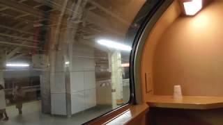 寝台特急サンライズ瀬戸号 琴平行き 東京発車 車窓 夜景