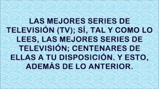 CINE PELÍCULAS EN LINEA y SERIES DE TELEVISIÓN gratis.wmv