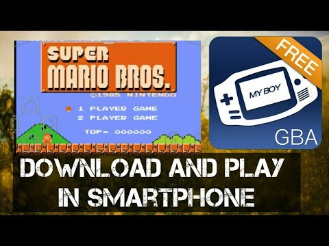 Classic NES Super Mario Bros. | Download And Play On Android | GBA Emulator