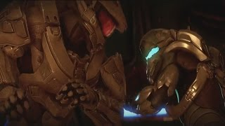 Halo 5 Guardians Master Chief vs Locke