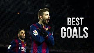 Жерард Пике - Лучшие Голы За Барселону!!! HD