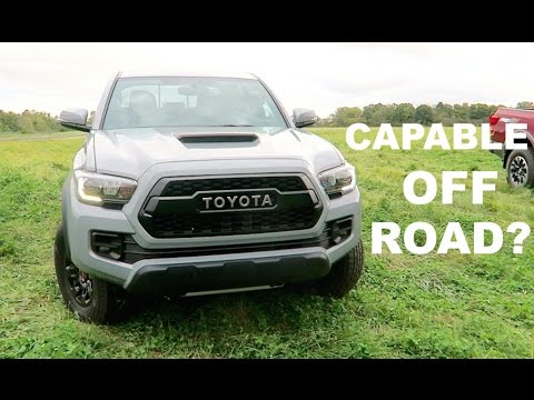 2017 Toyota Tacoma TRD Pro Review!