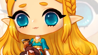 breath of the wild - chibi zelda